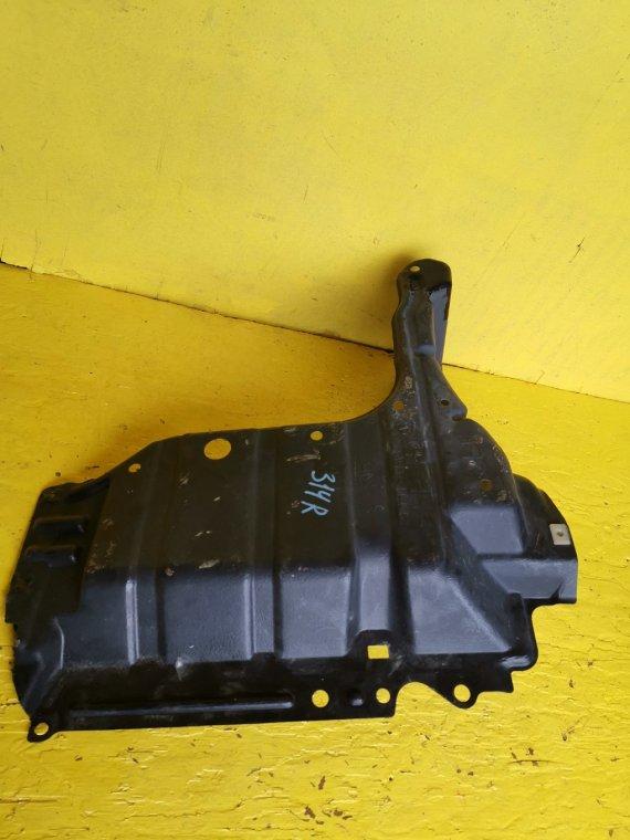 Защита двигателя Toyota Wish ZGE20 2ZR-FAE передняя правая (б/у)