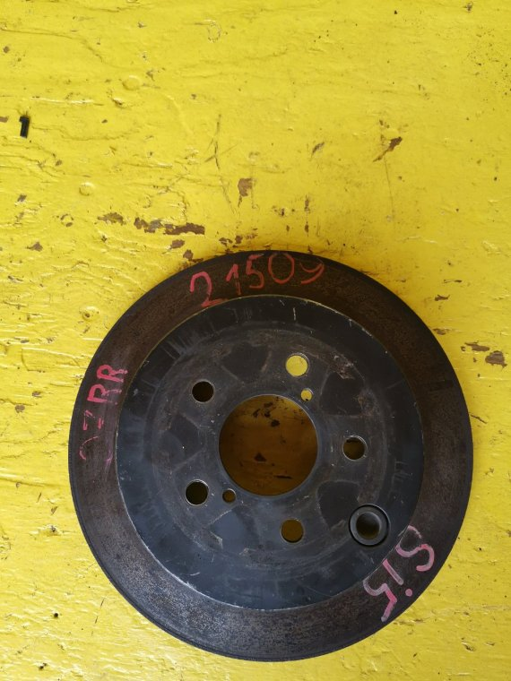 Тормозной диск Subaru Forester SJ5 FB20A задний правый (б/у)