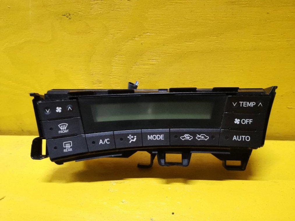 Блок управления климат-контролем Toyota Prius ZVW30 2ZR-FXE (б/у)