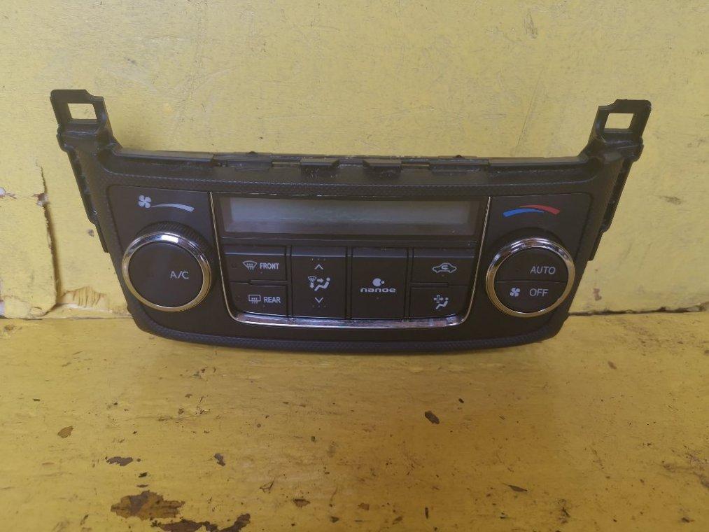 Блок управления климат-контролем Toyota Corolla Fielder NKE165 1NZFXE (б/у)