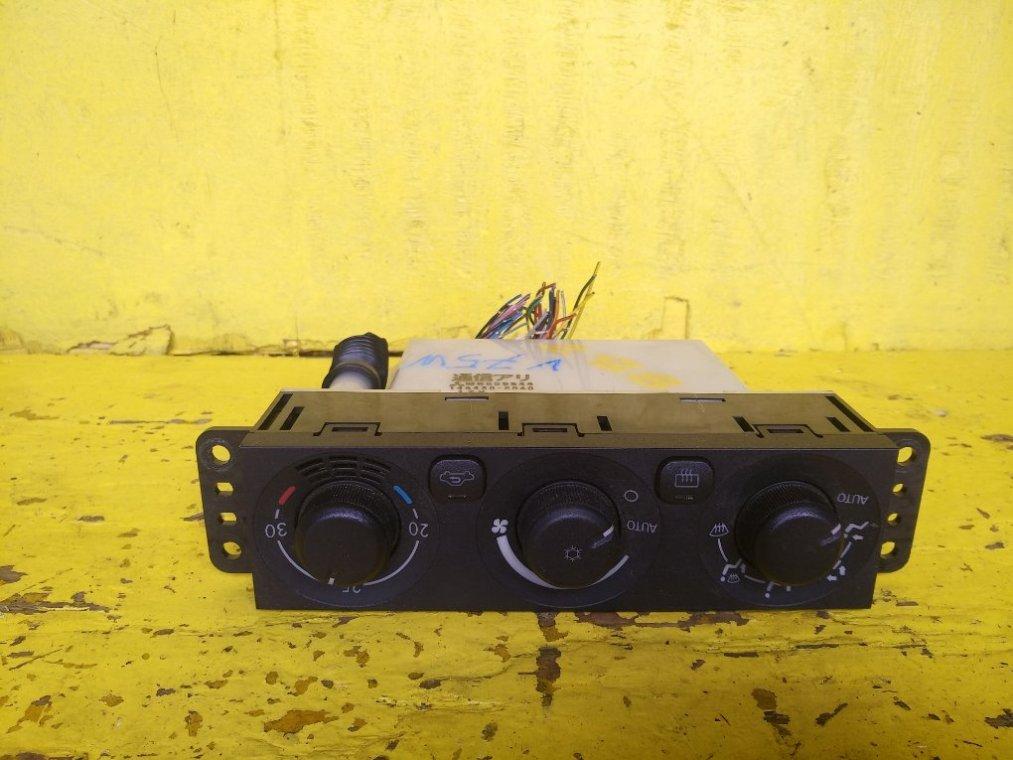 Блок управления климат-контролем Mitsubishi Pajero V75W 6G74 (б/у)