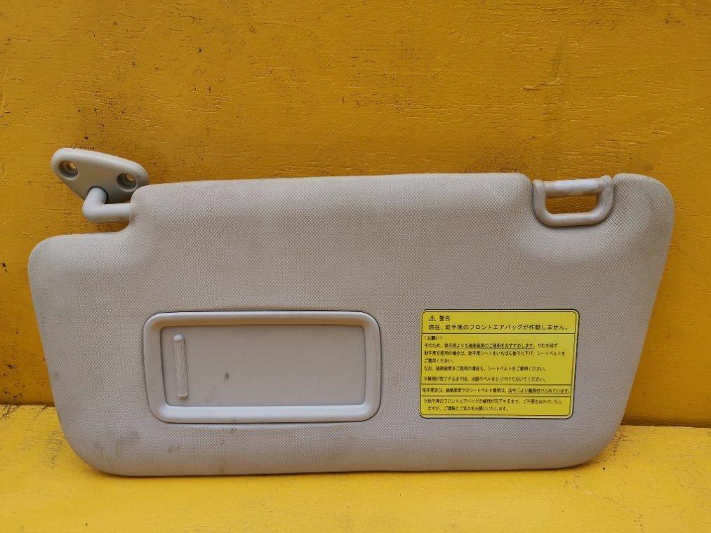 Козырек солнцезащитный Subaru Forester SH5 EJ204 передний левый (б/у)