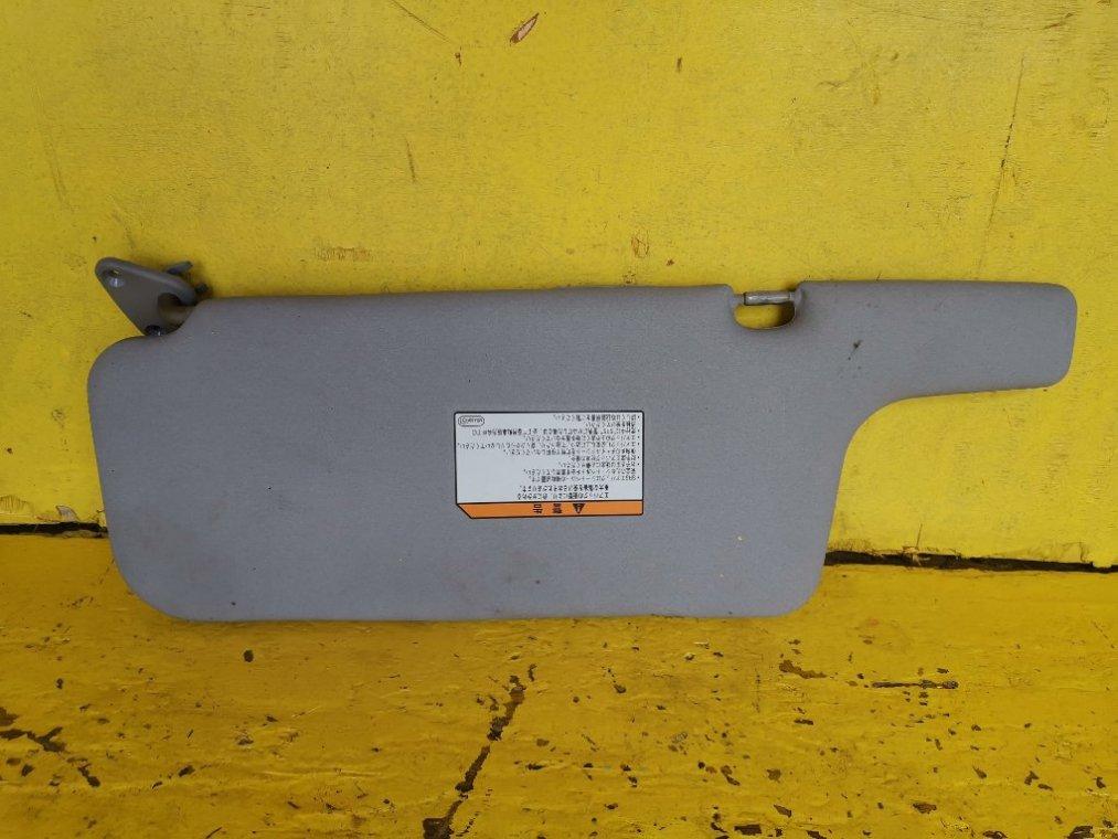 Козырек солнцезащитный Mitsubishi Pajero V78W 4M41 передний правый (б/у)