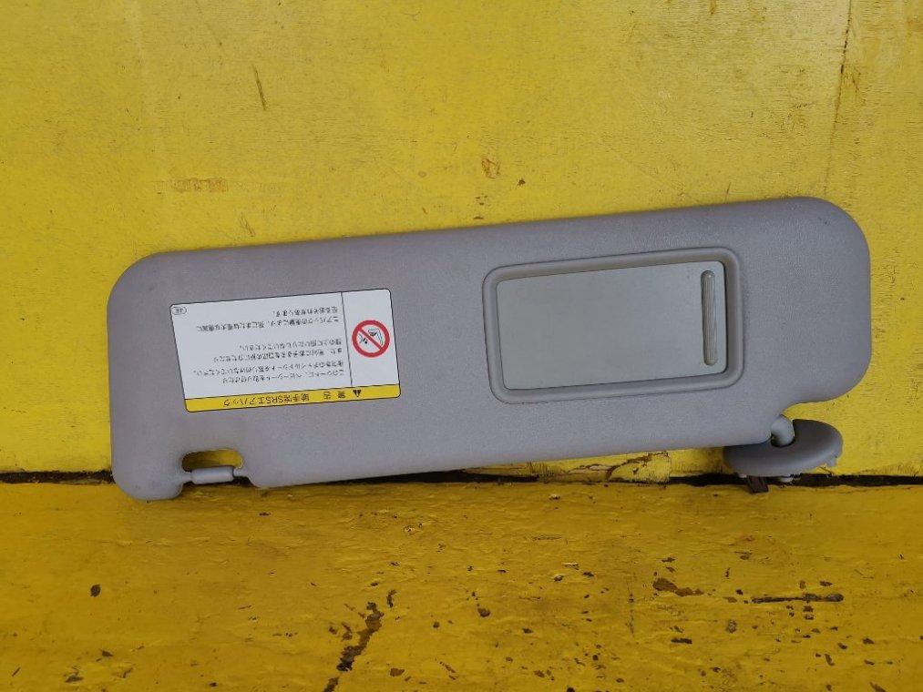 Козырек солнцезащитный Toyota Corolla Rumion NZE151N 1NZFE передний левый (б/у)