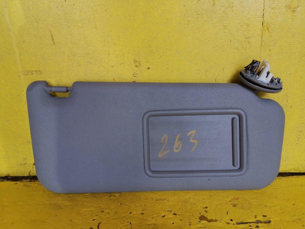 Козырек солнцезащитный Toyota Rav4 ACA36W 2AZFE передний правый (б/у)