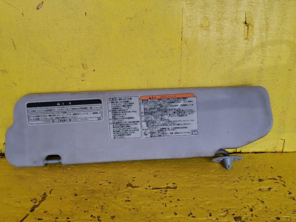 Козырек солнцезащитный Toyota Granvia KCH16W 1KZTE передний правый (б/у)