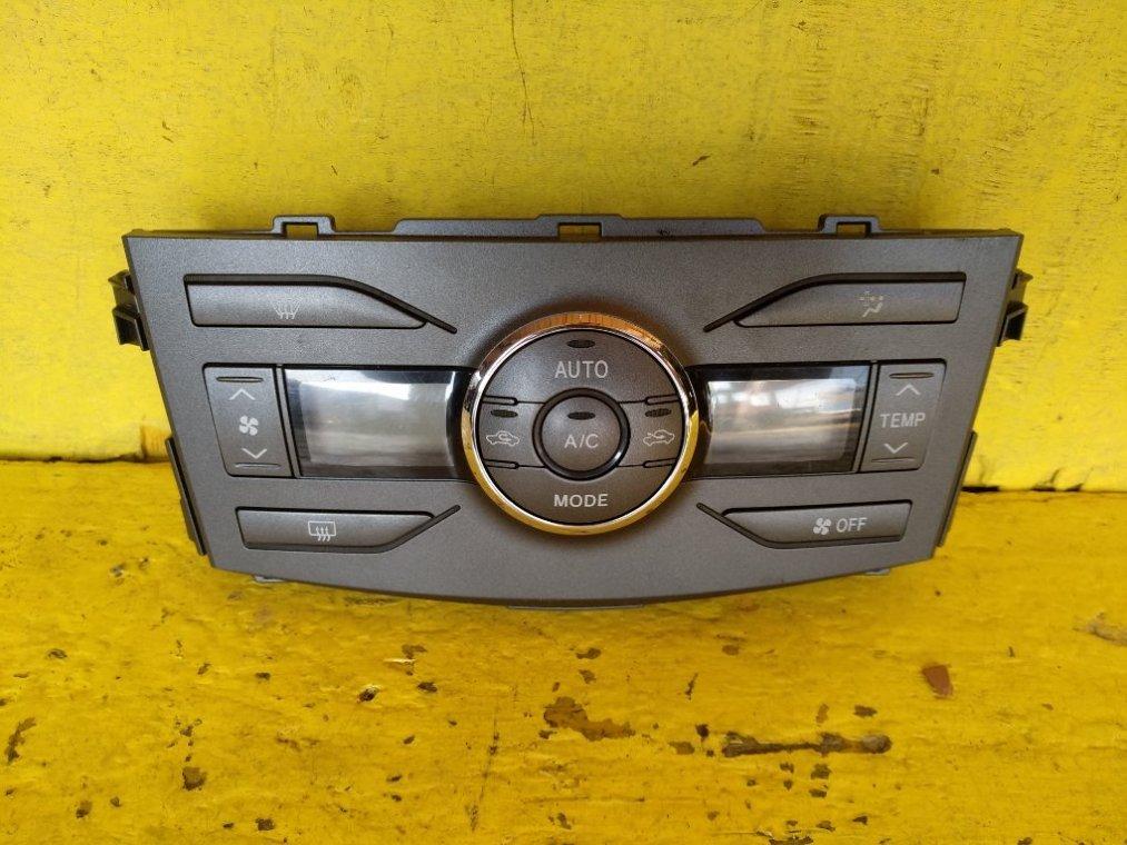 Блок управления климат-контролем Toyota Corolla Axio ZRE142 2ZR-FE (б/у)