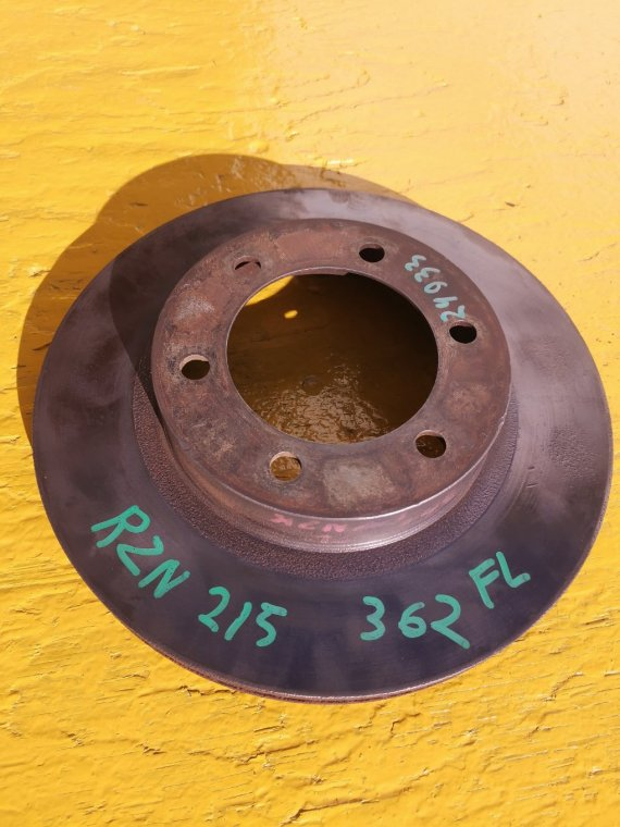 Тормозной диск Toyota Hilux Surf RZN215 3RZ-FE передний левый (б/у)