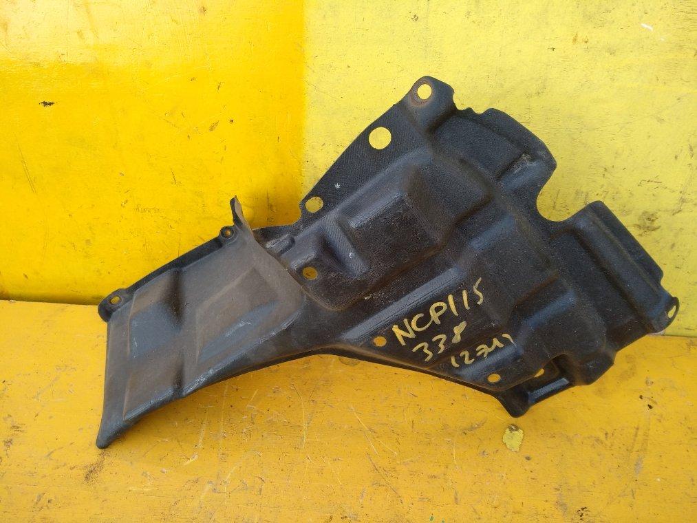 Защита двигателя Toyota Ist NCP110 1NZ-FE передняя правая (б/у)
