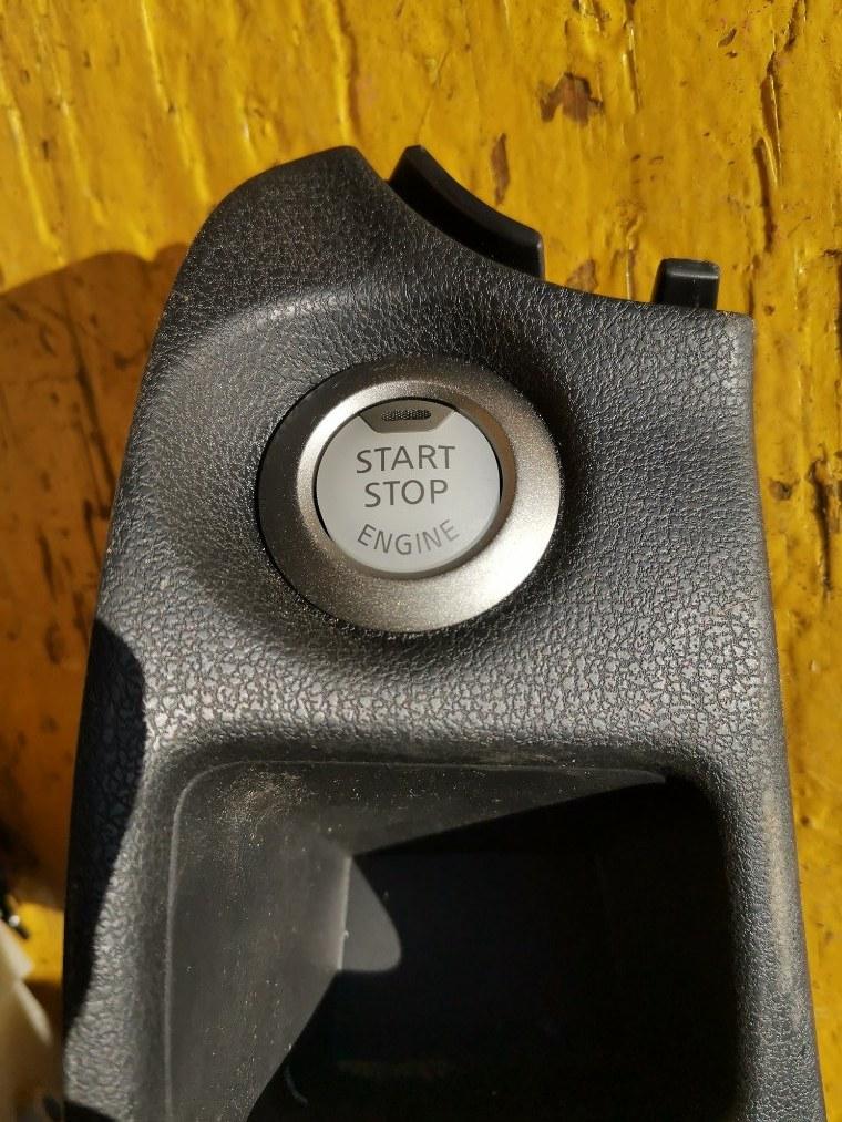 Кнопка пуска двигателя Nissan Note E12 HR12DE (б/у)