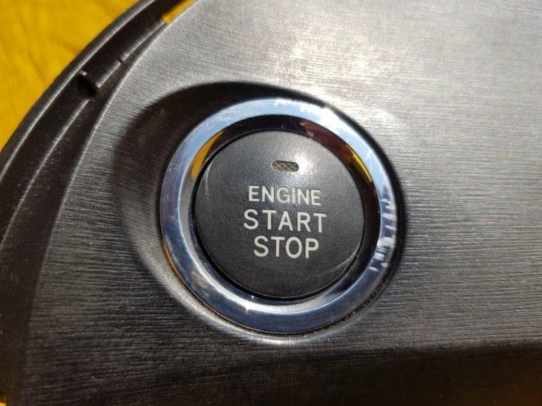 Кнопка пуска двигателя Toyota Prius ZVW30 2ZR-FXE (б/у)