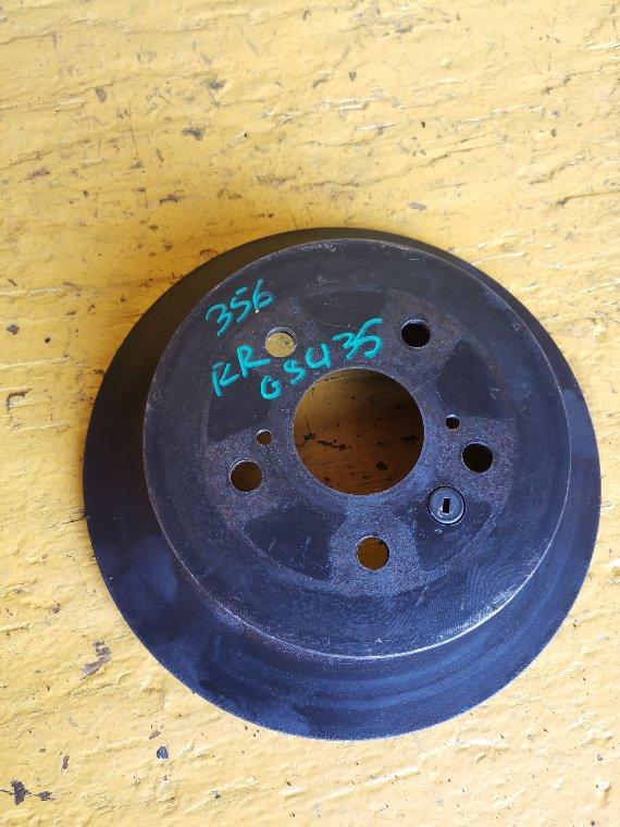 Тормозной диск Toyota Harrier GSU35 2GR-FE задний правый (б/у)