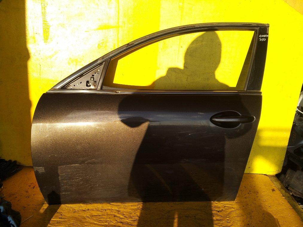 Дверь Mazda Atenza GHEFP LF передняя левая (б/у)