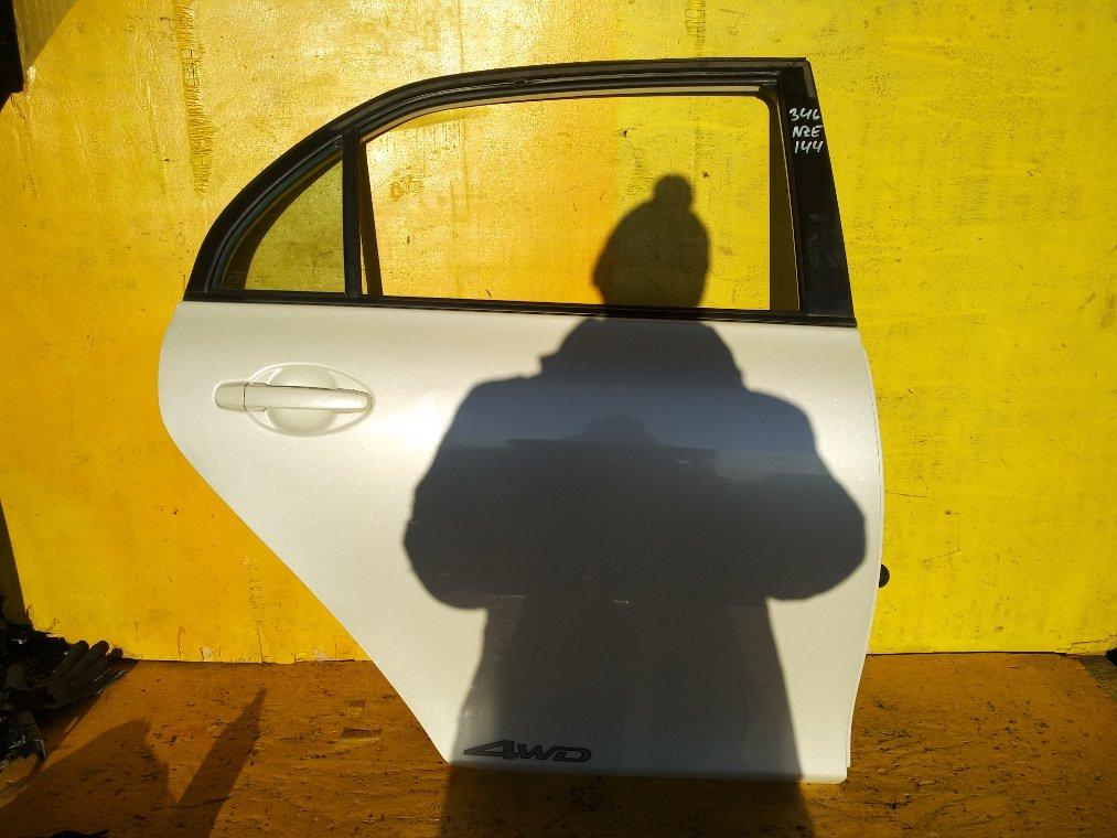 Дверь Toyota Corolla Axio NZE144 1NZ-FE задняя правая (б/у)