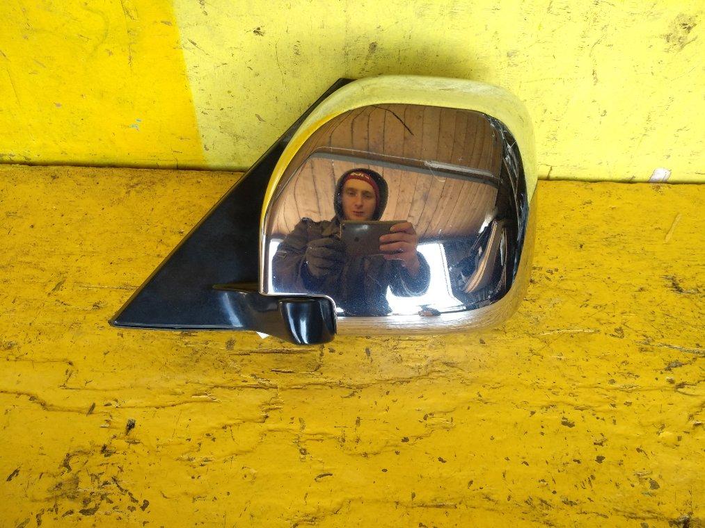 Зеркало Mitsubishi Pajero V75W 6G74 левое (б/у)