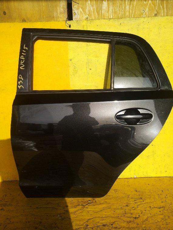 Дверь Toyota Ist NCP115 1NZ-FE задняя левая (б/у)