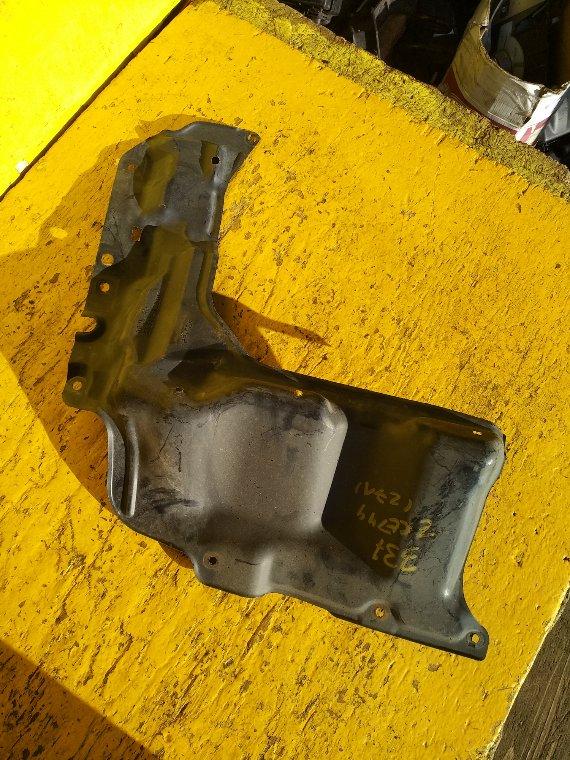 Защита двигателя Toyota Corolla Axio ZRE144 2ZR-FE правая (б/у)