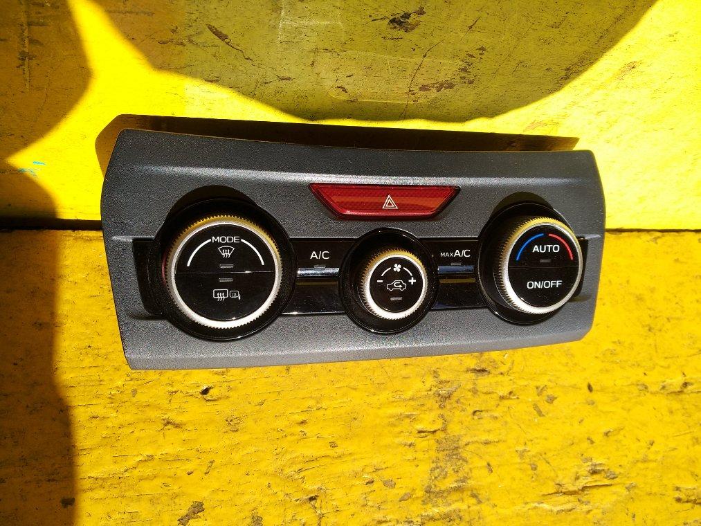 Блок управления климат-контролем Subaru Xv GT3 FB16 (б/у)