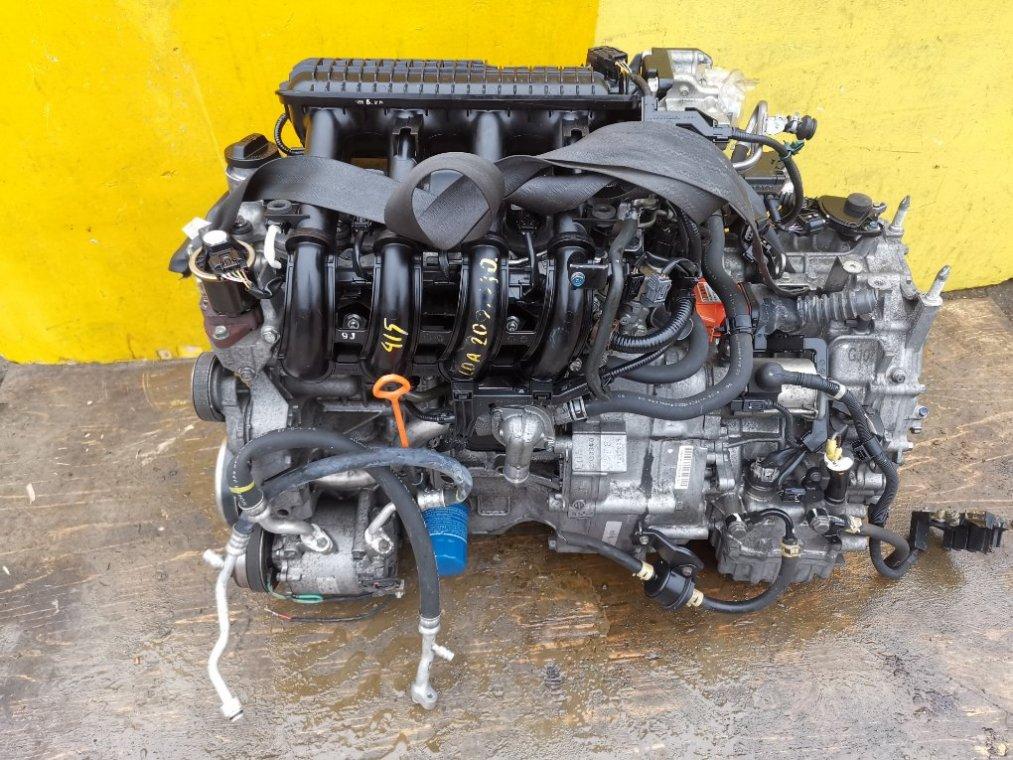 Двигатель Honda Insight ZE2 LDA (б/у)
