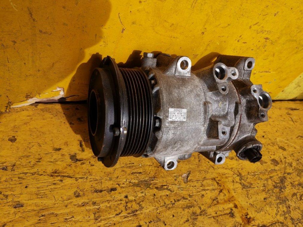 Компрессор кондиционера Toyota Vanguard ACA38 2AZ-FE (б/у)
