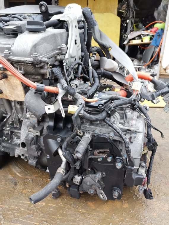 Акпп Toyota Kluger MHU28 3MZ-FE (б/у)