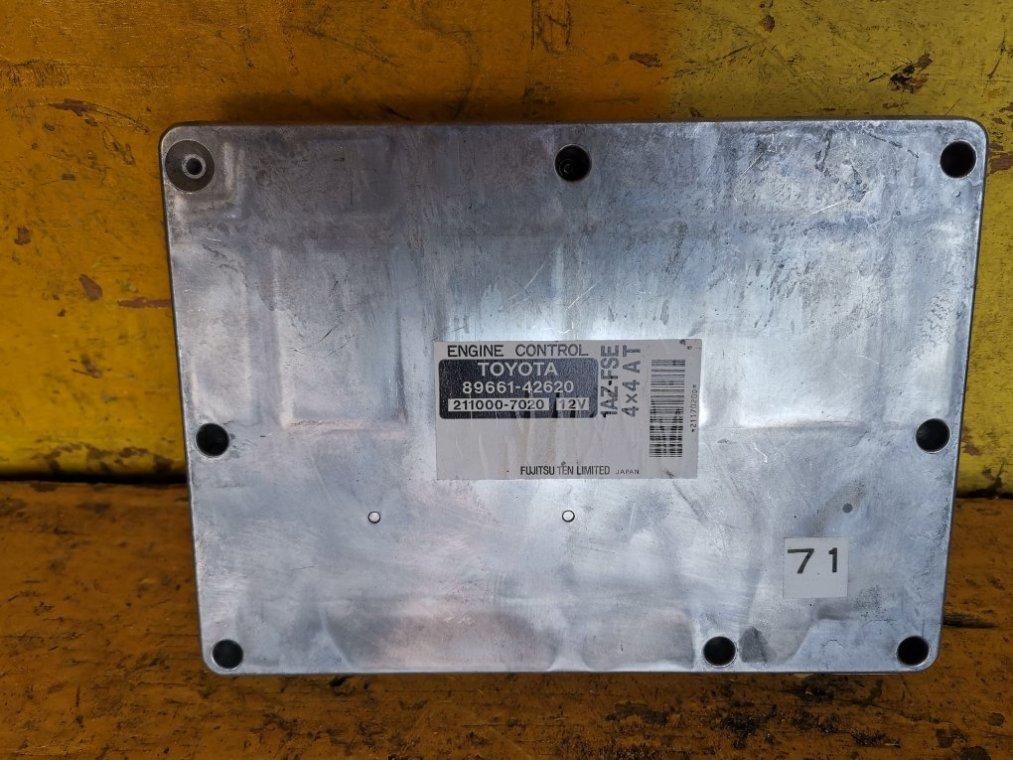 Блок управления efi Toyota Rav4 ACA21 1AZ-FSE (б/у)