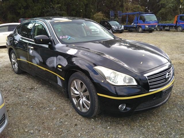 Автомобиль NISSAN FUGA HY51 VQ35HR в разбор