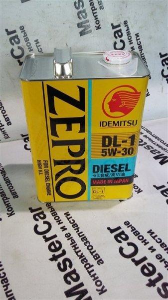 Моторное масло IDEMITSU ZEPRO DIESEL  5w30 (4L) IDEMITSU 2156-004