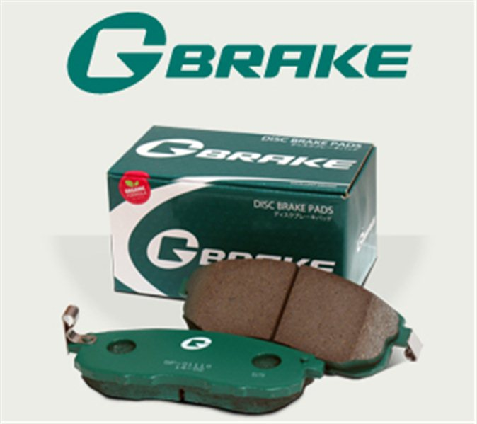 Тормозные колодки Toyota Rav4 переднее G-brake GP-02268