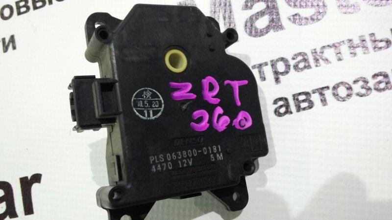 Сервопривод заслонок печки Toyota Allion ZRT260 (б/у) Toyota 063800-0181
