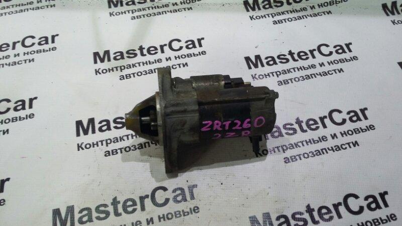 Стартер Toyota Allion ZRT260 2ZRFE (б/у) Denso 28100-37020
