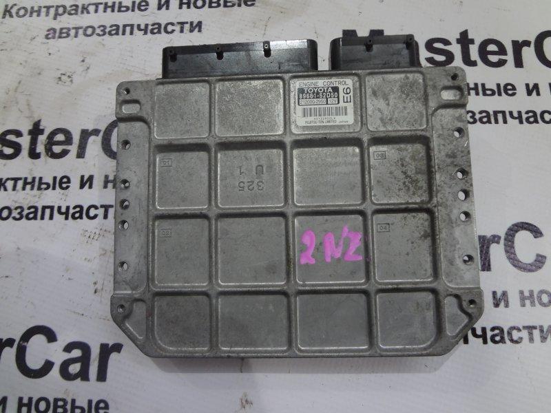 Блок управления двс Toyota Vitz NCP95 2NZ (б/у) toyota 89661-52D50