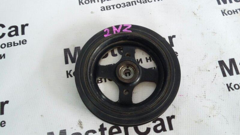 Шкив коленвала Toyota Vitz NCP95 2NZ (б/у) Toyota 13407-21031