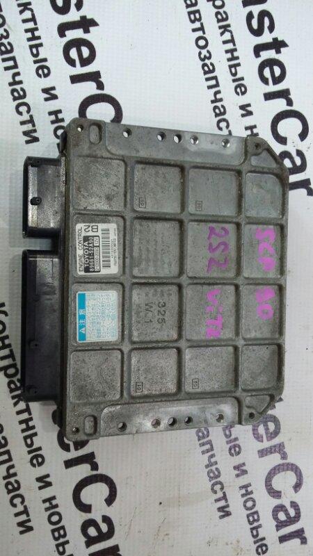 Блок управления двс Toyota Vitz KSP90 2SZFE (б/у) Toyota 89661-52A90
