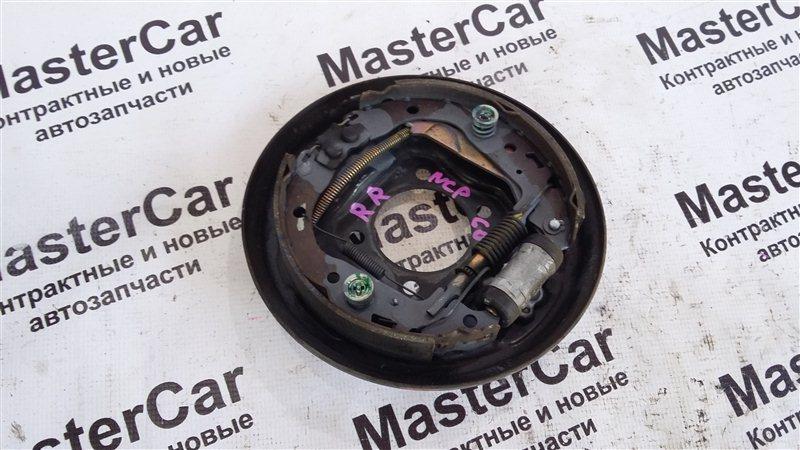Механизм стояночного тормоза Toyota Ist NCP60 2NZFE задний правый (б/у) Toyota 47043-52010