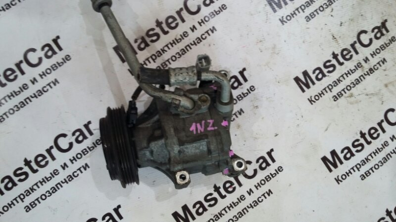 Компрессор кондиционера Toyota Allex NZE121 1NZFE (б/у) toyota 88320-1A480