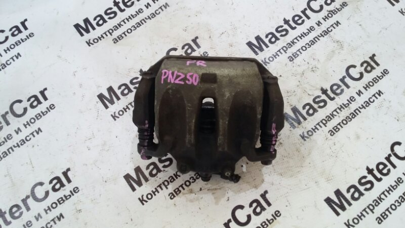 Суппорт тормозной Nissan Murano PNZ50 VQ35 2007 передний правый (б/у) nissan 41001CA01A