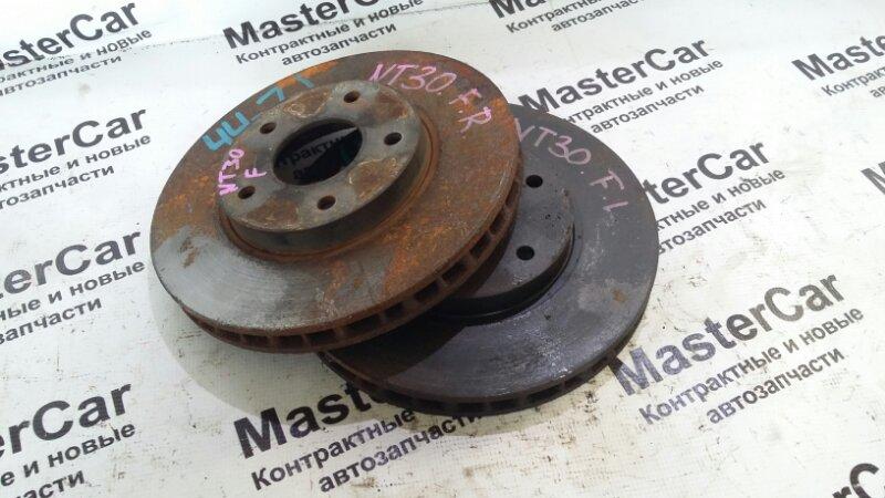 Тормозной диск Nissan X-Trail NT30 QR20DE передний (б/у) Nissan 402068H300