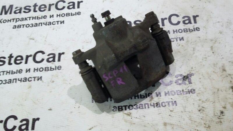 Суппорт тормозной Toyota Platz SCP11 1SZFE передний правый (б/у) Toyota 47730-52010