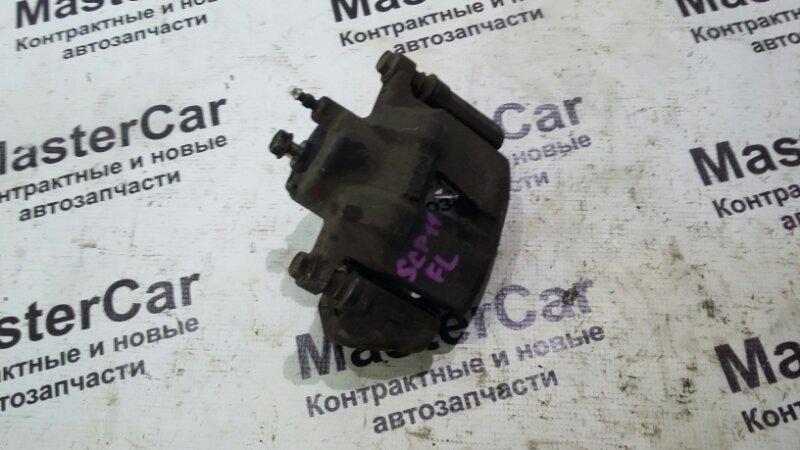 Суппорт тормозной Toyota Platz SCP11 1SZFE передний левый (б/у) Toyota 47750-52010
