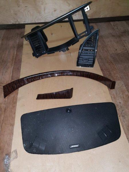 Пластик салона Nissan Patrol Y62 VK56VD 2013 (б/у)