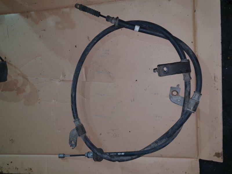 Трос ручника Hyundai Solaris 1 1 2011 (б/у)