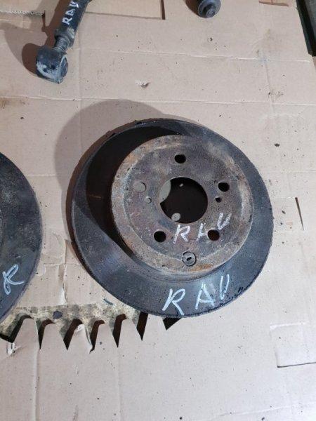 Диск тормозной Toyota Rav4 III (XA30) 2 2008 задний левый (б/у)