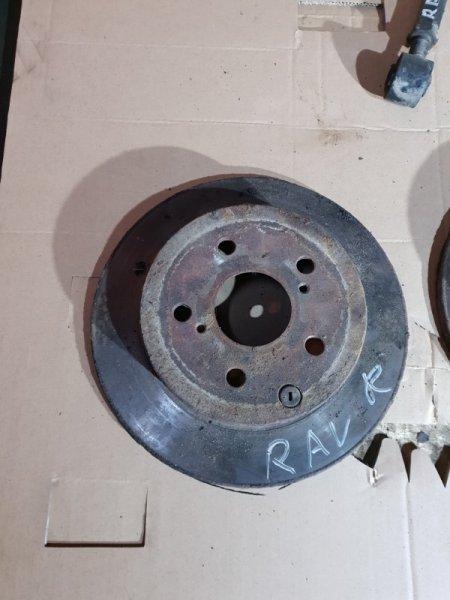 Диск тормозной Toyota Rav4 III (XA30) 2 2008 задний правый (б/у)