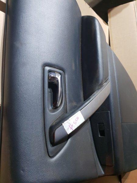 Обшивка двери Infiniti Fx S50 3.5 280Л.С 2007 задняя правая (б/у)