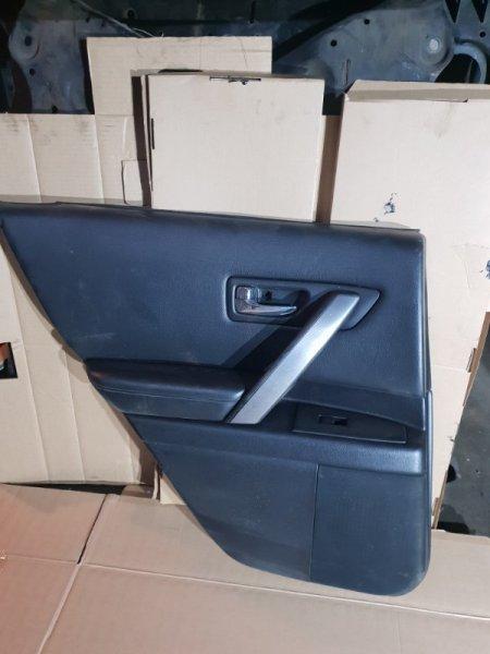 Обшивка двери Infiniti Fx S50 3.5 280Л.С 2007 задняя левая (б/у)