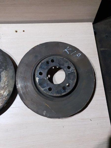 Диск тормозной Kia Sportage III 2.0 150 Л.С 2015 передний (б/у)