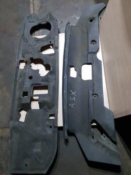 Накладка радиатора Mitsubishi Asx I 1.6 117 Л.С 2010 передняя (б/у)