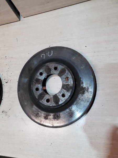 Диск тормозной Infiniti Qx56 Z62 5.6 405 Л.С 2011 передний левый (б/у)