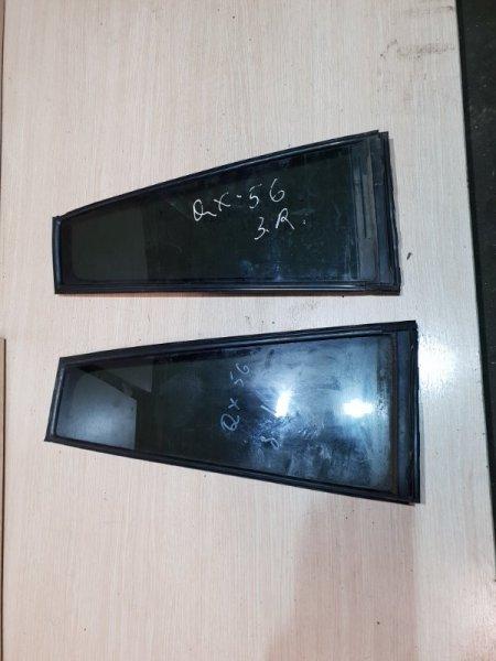 Стекло двери задней Infiniti Qx56 Z62 5.6 405 Л.С 2011 (б/у)